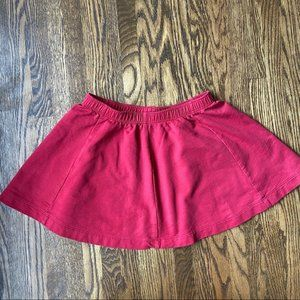 Tea Collection Red Skirt